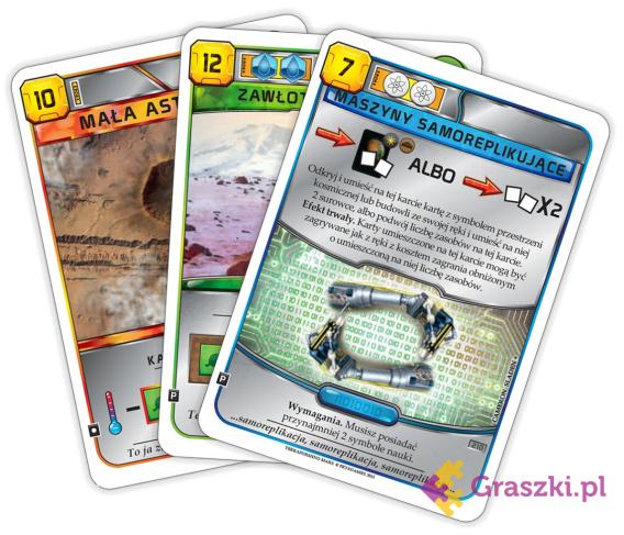 Terraformacja Marsa (przedsprzedaż) - zestaw dodatkowy #2 (3 karty)